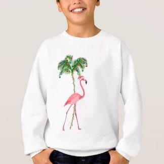 Sweatshirt Flamant de Noël