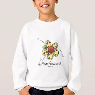 Sweatshirt Fleur de sensibilisation sur l'autisme