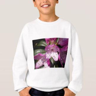 Sweatshirt Fleur rose