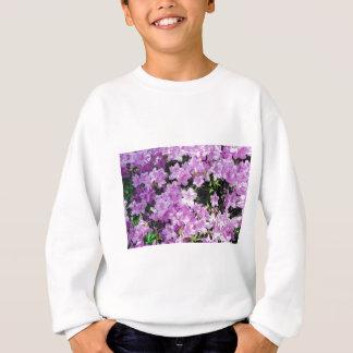 Sweatshirt Fleurs asiatiques violettes