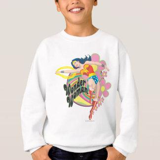 Sweatshirt Fleurs de femme de merveille rétros