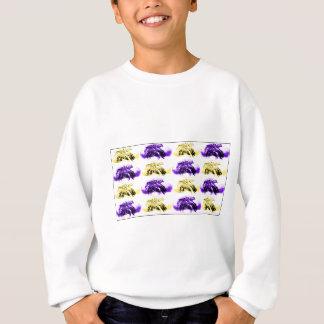 Sweatshirt Fleurs de flottement