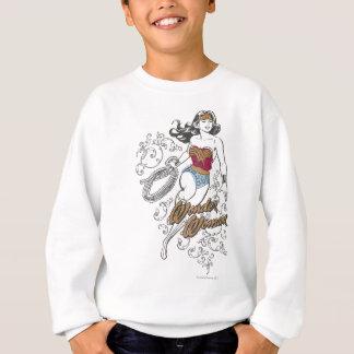 Sweatshirt Flourish de femme de merveille