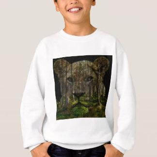 Sweatshirt Forêt à l'intérieur d'un tigre