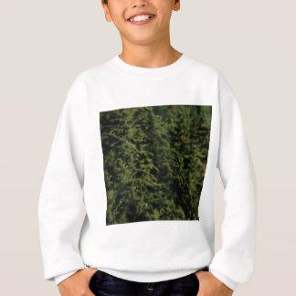 Sweatshirt forêt verte épaisse