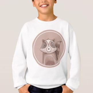 Sweatshirt forêts portrait raccoon