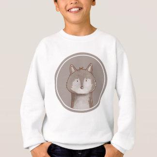 Sweatshirt forêts portrait wolf