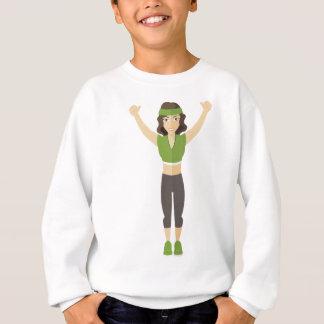 Sweatshirt Formation de femme de forme physique