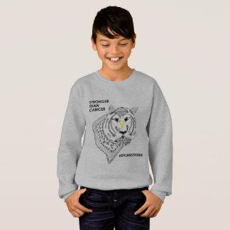 Sweatshirt fort d'enfants de Dylan (aucun capot)