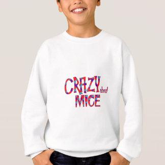 Sweatshirt Fou au sujet des souris