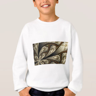 Sweatshirt Fractale de Brown