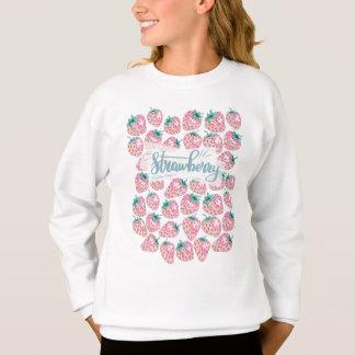 Sweatshirt Fraise rose