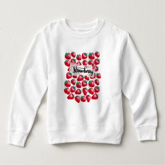 Sweatshirt Fraise rouge