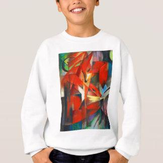Sweatshirt Franz Marc les renards