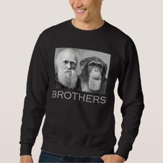 Sweatshirt Frères de Darwin et de chimpanzé