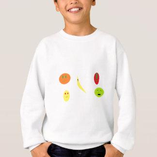 Sweatshirt Fruit avec visage