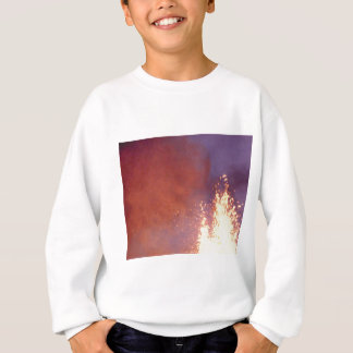 Sweatshirt fumée et le feu