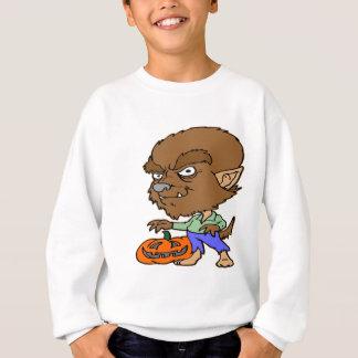 Sweatshirt Garçon de loup-garou de Halloween