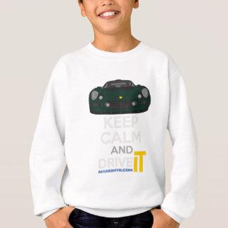 Sweatshirt Gardez le calme et conduisez-LE - morue. ExigeS1