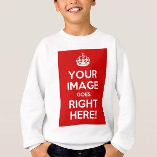 Sweatshirt Gardez les enfants calmes