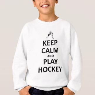 Sweatshirt Gardez l'hockey de calme et de jeu