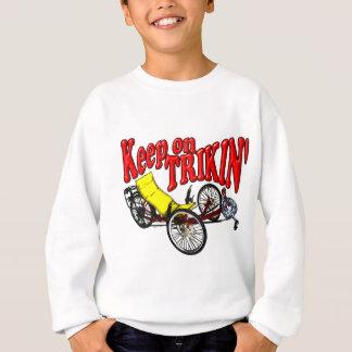 Sweatshirt Gardez sur Trikin