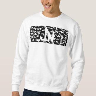 Sweatshirt Geai Niani - logo JN de barre de Camo - noir et