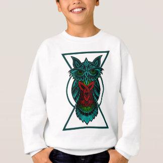 Sweatshirt Géométrique celtique de hibou