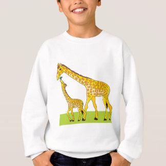 Sweatshirt Girafe et bébé