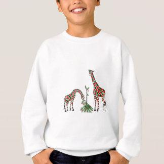 Sweatshirt - girafes de Noël