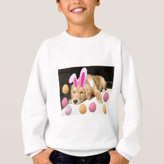 Sweatshirt Golden retriever heureux de Pâques