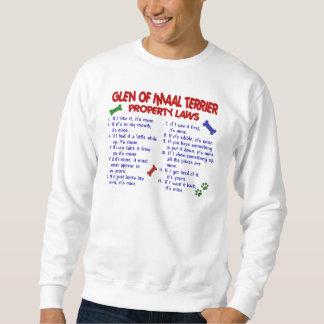 Sweatshirt GORGE des lois de propriété d'IMAAL TERRIER