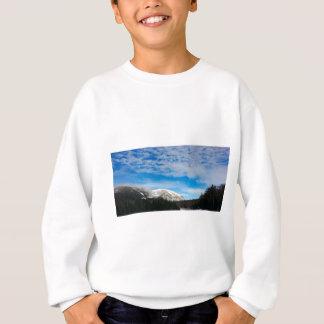 Sweatshirt Grand ciel bleu de montagnes blanches