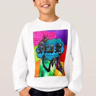 Sweatshirt Grand collage inspiré rêveur