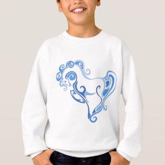 Sweatshirt Graphique élégant de cheval