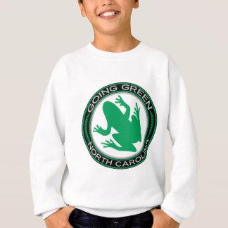 Sweatshirt Grenouille verte allante de la Caroline du Nord