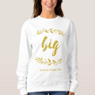 Sweatshirt Guirlande de Tau d'alpha sigma grande