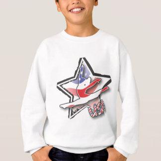 Sweatshirt Gymnaste de drapeau