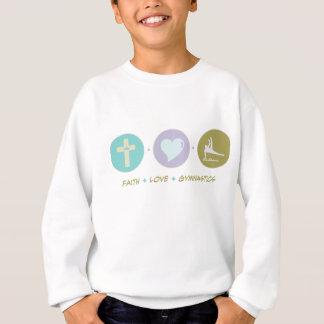 Sweatshirt Gymnastique d'amour de foi