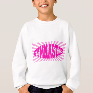 Sweatshirt Gymnastique rose