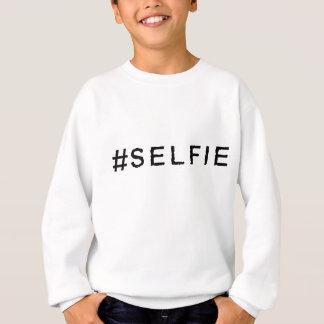 Sweatshirt Habillement de Hashtag - #SELFIE