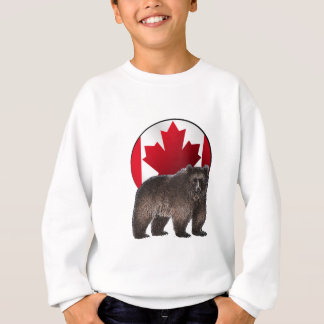Sweatshirt Habitat canadien
