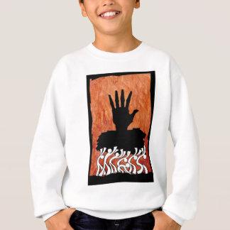 Sweatshirt hand on you