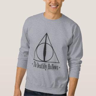 Sweatshirt Harry Potter | le de mort sanctifie l'emblème