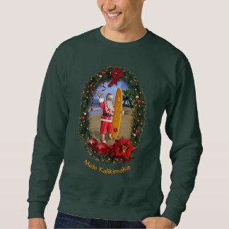 Sweatshirt hawaïen de Père Noël