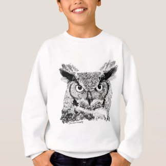 Sweatshirt Hibou à cornes