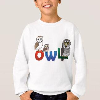 Sweatshirt Hibou coloré