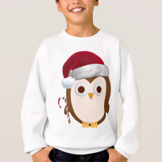 Sweatshirt Hibou de Noël