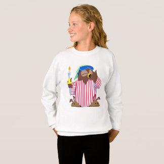 Sweatshirt Hibou somnolent de Noël