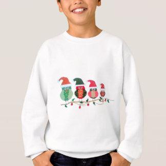 Sweatshirt Hiboux de Noël